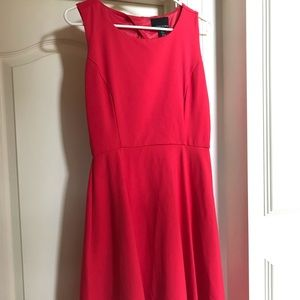 Cynthia Rowley Cherry Red A-Line Dress 4